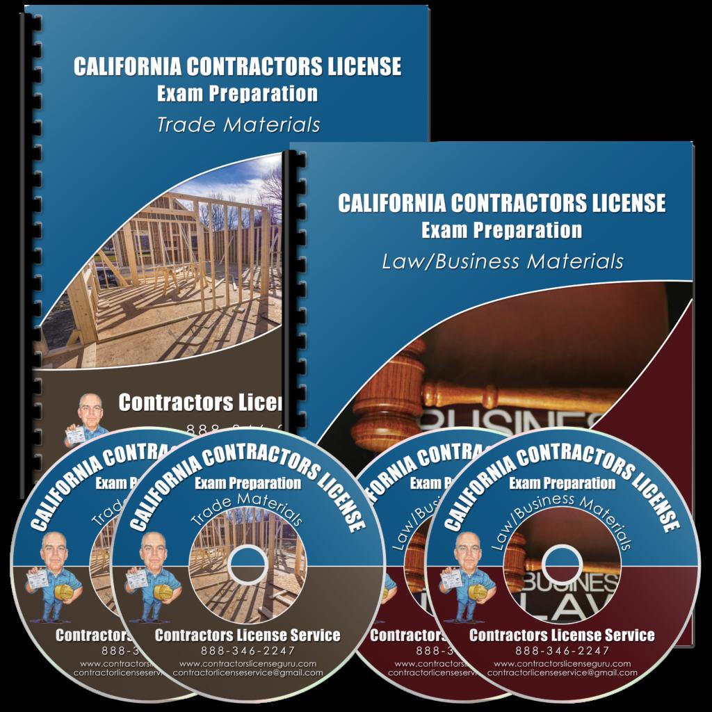 Contractors Exam Study Materials - California Constractor