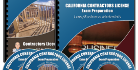 Contractors License Study Kit