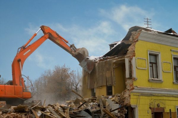 C21 Building Moving Demolition Contractors License
