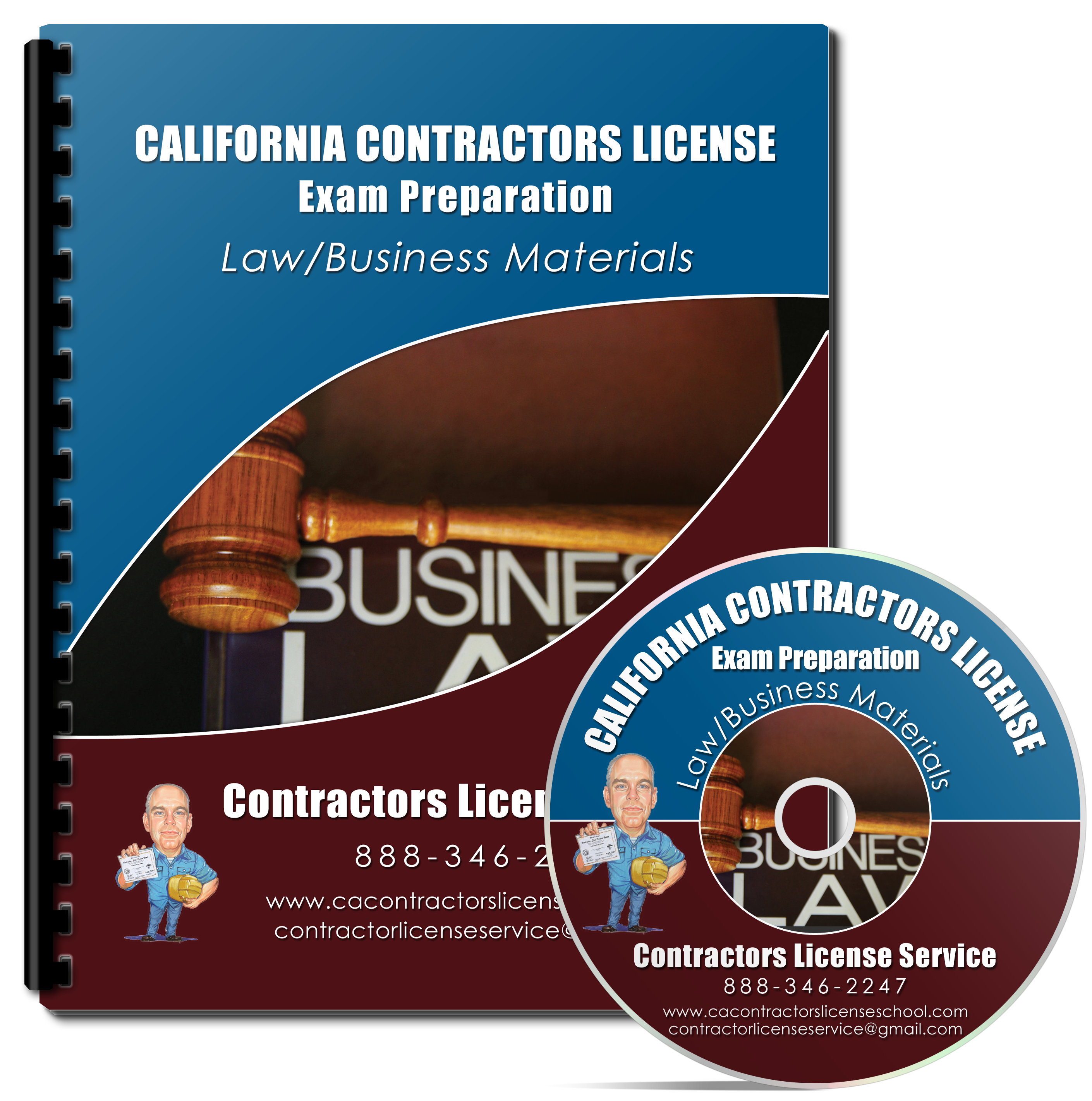 Contractors License Exam Law & Business Kit