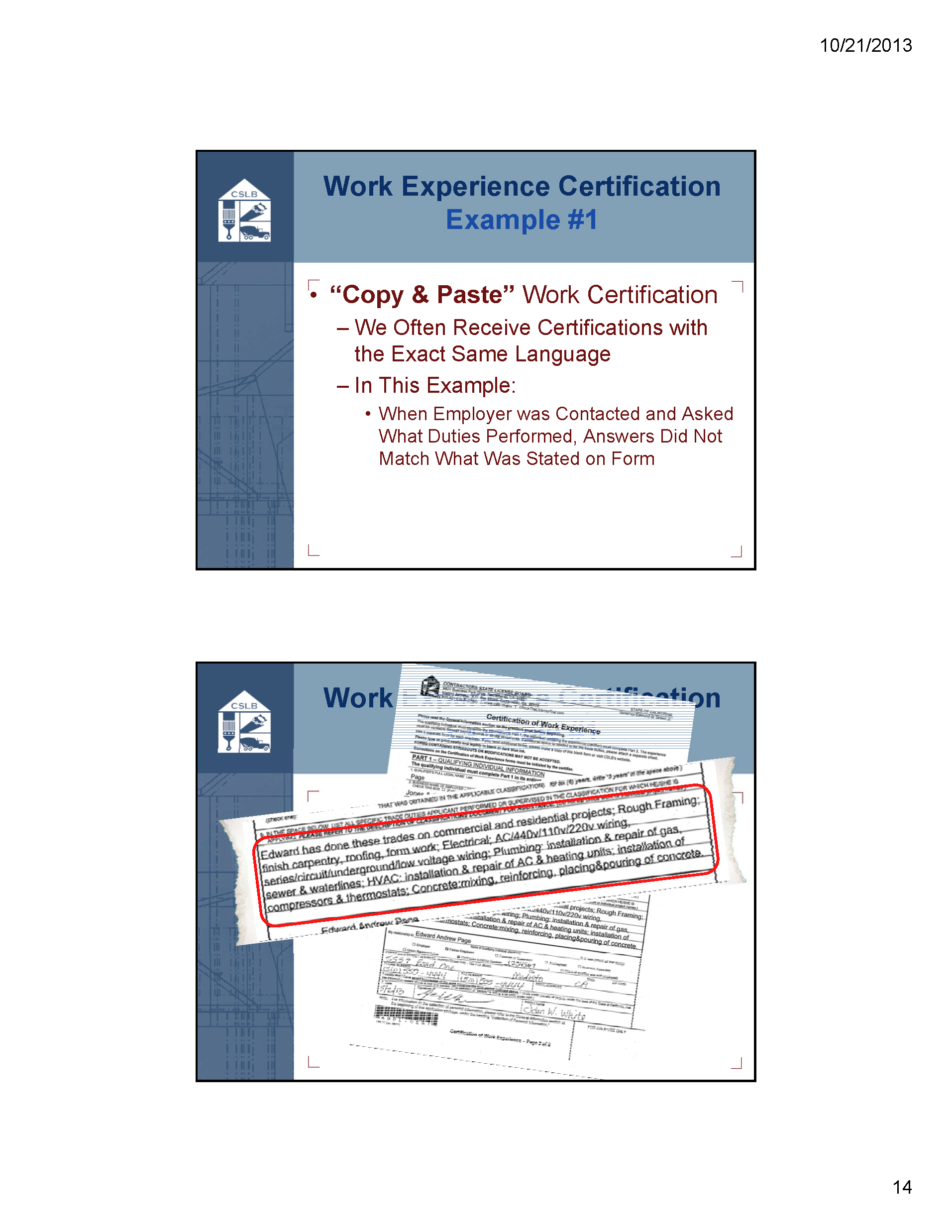 Cslb qualifying experience part 3 contractors license guru cslb qualifying experience part 3 1betcityfo Choice Image