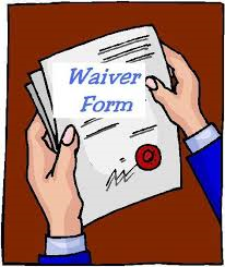 Contractors License Application Waivers