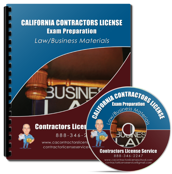 California Law Business Exam Study Materials