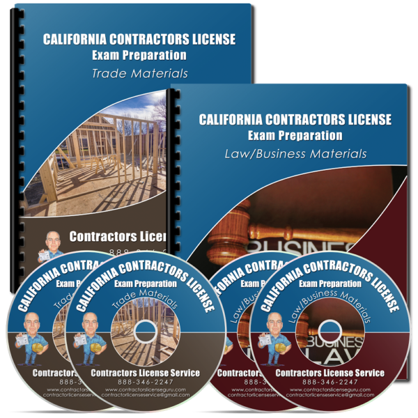 Contractors License Exam Complete Kit