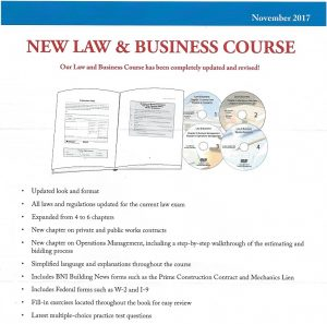 Updated California Law Business Contractors License Exam Kit_1