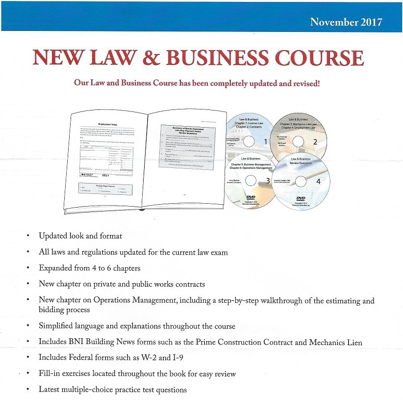 contractors licensing practice exam and state license