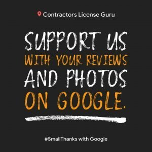 Please Support the Contractors License Guru