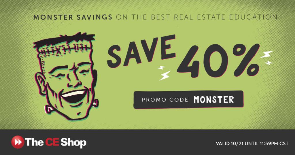 monster sale real estate license guru